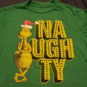Boys Old Navy Grinch Graphic T-Shirt size M